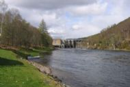 salmonquest salmon fishing holidays, river conon, upper fairburn