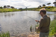 edinburgh cruise shore excursion, guided trout fishing