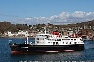 Hebridean Princess off Oban