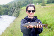 river alness brown trout