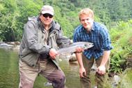 invergordon cruise shore excursion, guided salmon fishing