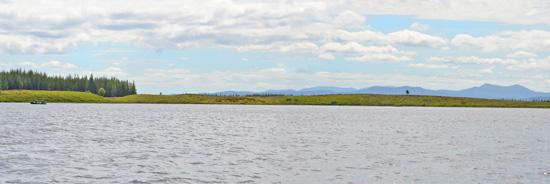 troutquest excursion - wild brown trout fishing on loch beannach, sutherland