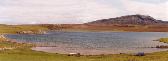 troutquest excursion - wild brown trout fishing on loch caladail, sutherland