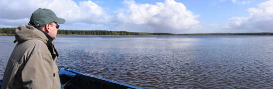 troutquest excursion - wild brown trout fishing on loch toftingall, caithness.