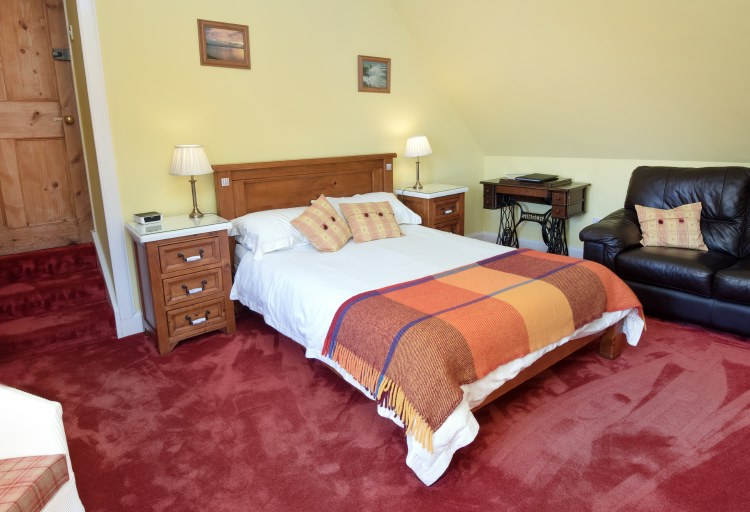 sydney house b&b cromarty - sandilands bedroom