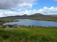 Looking down over Dunvegan