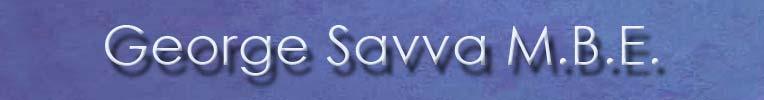 George A Savva M.B.E.councillor Haselbury ward