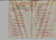 Programme 1964 Circus