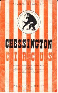 CIRCUS PROGRAMME 1956