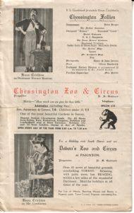 WW2 CONCERT PARTY PROGRAMME