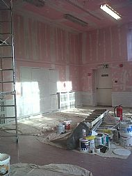 Main Hall Redecoration