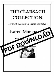 The Clarsach Collection Vol 1 Elementary PDF £9