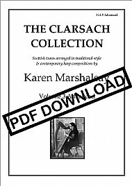 The Clarsach Collection Vol 3 Advanced PDF £13