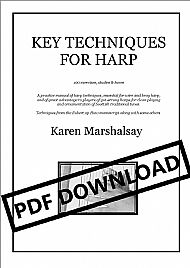 Key Techniques for Harp PDF £18