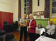 Pam Piercy - Duncan Mackenzie Trophy for overall total points win