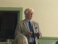 Alan Riach, President of the SBA