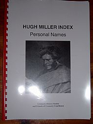 Hugh Miller Index: Personal Names