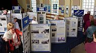 In Amongst the Exhibition Boards