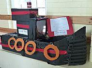 Model of a Kessock Ferry Boat