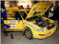 Scrutineering on Friday