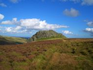 Housey Crags in the Cheviots, Northumberland