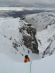 The top pitch of Central Gully Right Branch, Great End