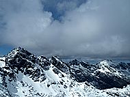 Wintery Cuillin Ridge in April 2015