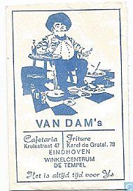van Dam's Cafetaria aan de Kruisstraat