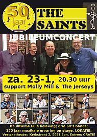Saints 50-jubileum Vestzaktheater 23-01-2016