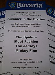 SUMMER IN THE SIXTIES 2014