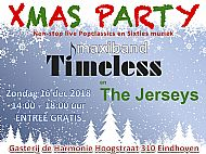 Xmas Party 2018 met Maxiband Timeless