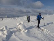 Skiing Saariselka 2018