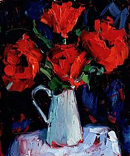 Poppies in a French Jug