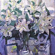 Lilies by the Window
