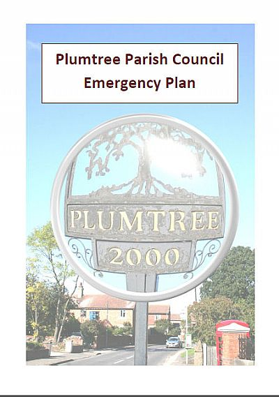 emergency plan cover page