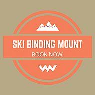 Ski Binding Mount �40