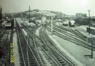 Panteg&Coed-y-Gric Junction 1961.Line  to the right going to Pontypool Rd Station and Hereford