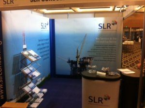 SLR's exhibition stand at last year's APPEA HSE Conference.