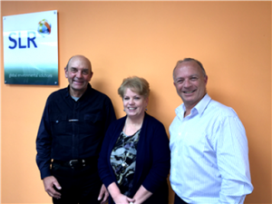 Stack-Air's Keith & Sylvia James with SLR's Peter Georgiou