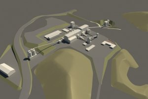 Aerial View of Wolf Minerals' Drakelands Tungsten Mine