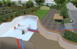 Geothermal Cutaway