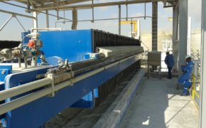 Sludge Dewatering for Oil Field Production Facility