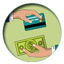 pagar fiesta con efectivo y tarjeta