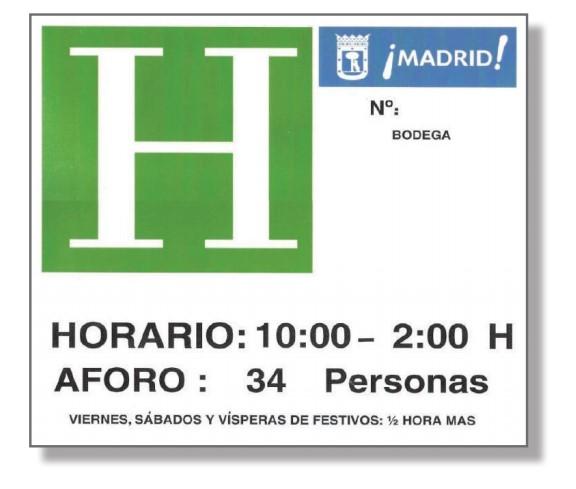 Cartel de Espectáculos Públicos y Actividades Recreativas de Madrid