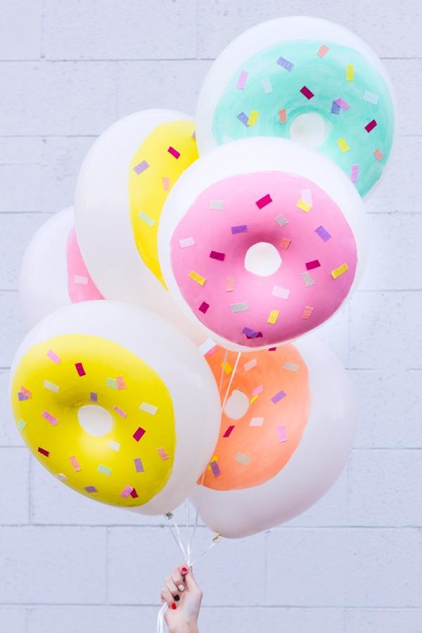 donuts cumpleaños
