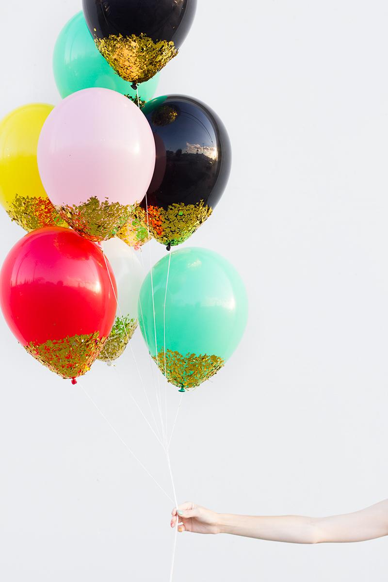 globos confeti cumpleaños
