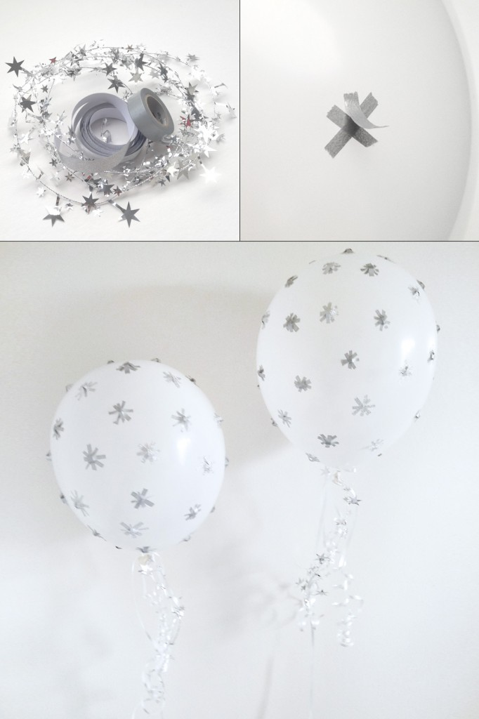 globos con estrellas
