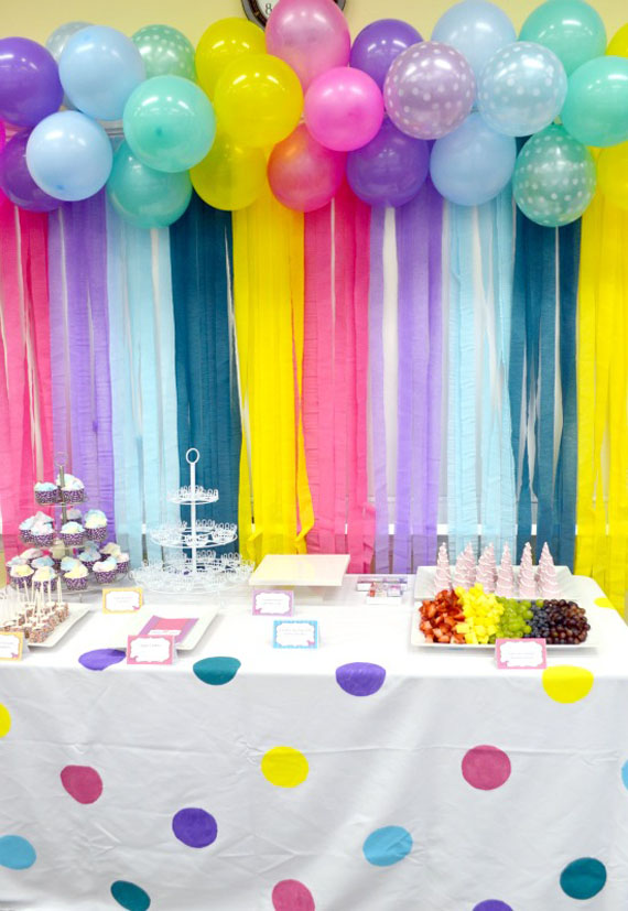 cortina cumpleaños globos