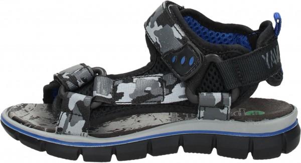 Bama Teens Hiking Shoes Textile black2