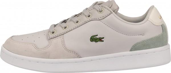 Lacoste Sneaker Leder Grau